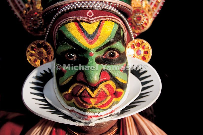 Kathakali (literally ' story performance') is Kerala's most colorful performance art, which many believe was inspired by Chinese Opera.