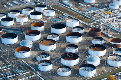 Oil Refinery Tank Farm
