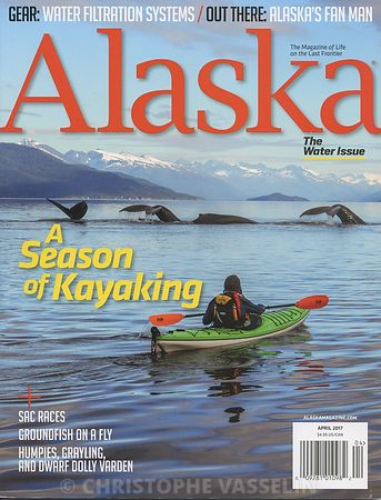 ALASKA MAGAZINE - APRIL 2017 photos