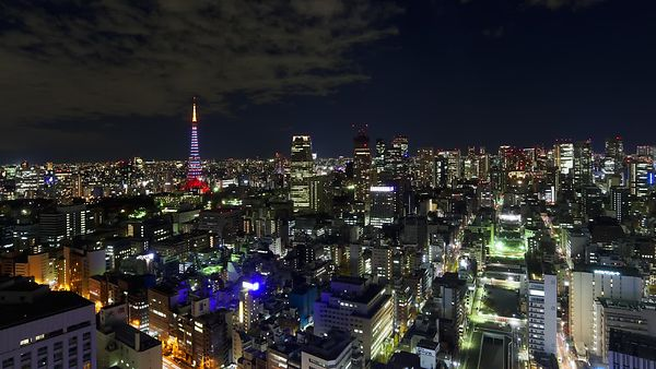 Bird's Eye: The Lighting Of The Tokyo Tower