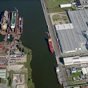 Bremenhaven Port Area