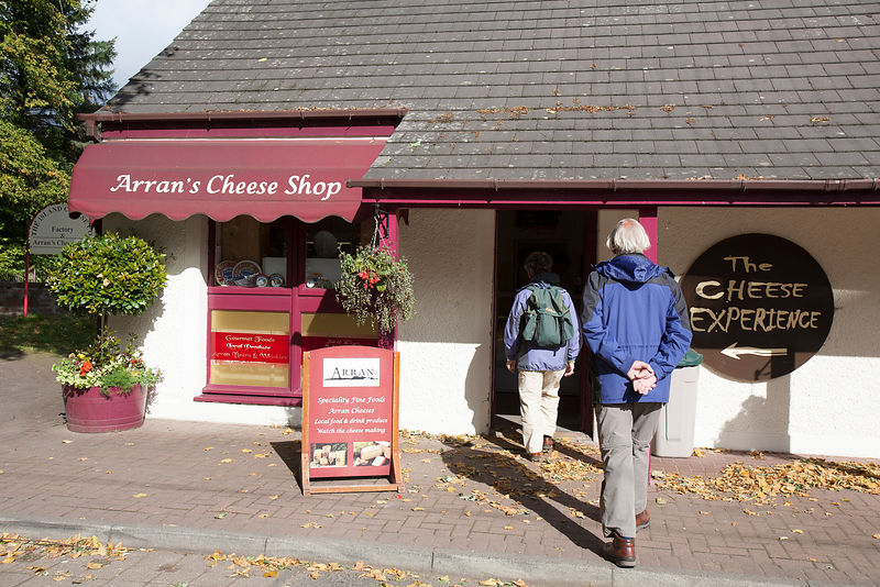 Arran Cheese Shop