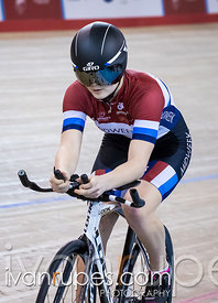 U17 Women Pursuit Final. 2016/2017 Track O-Cup #3/Eastern Track Challenge, Mattamy National Cycling Centre, Milton, On, February 11, 2017