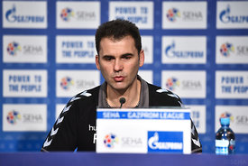 Raul GONZALES of Vardar during the Final Tournament - Final Four - SEHA - Gazprom league, Finals press conference Varazdin, Croatia, 02.04.2016, ..Mandatory Credit ©SEHA/Nebojša Tejić