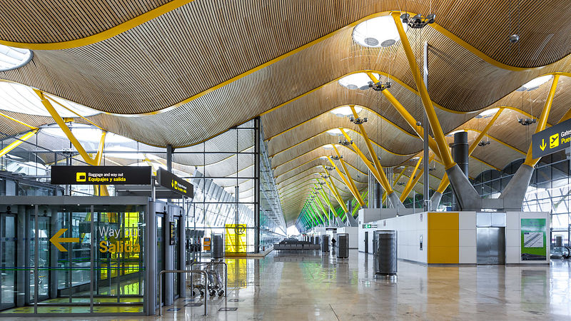 Madrid Barajas International Airport photos