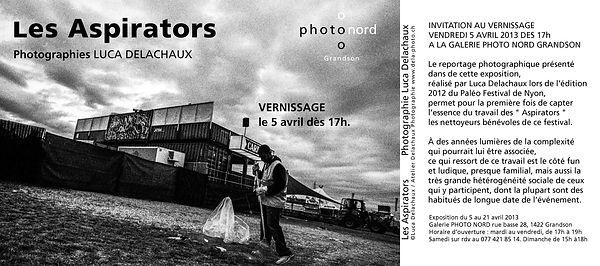 "Vernissage: ""Les Aspirators"" Photographies Luca Delachaux photos architecture"