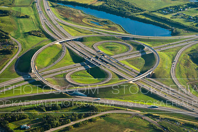 Anthony Henday Dr and Yellowhead Hwy Interchange, Edmonton