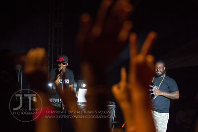 Hawkapalooza and T-Pain, Hubbard Park, Sept 6, 2012