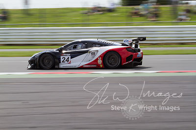 United Autosports' McLaren 12C GT3 in action at the Silverstone 500 - the third round of the British GT Championship 2014 - 1st June 2014