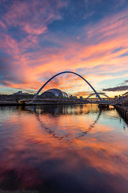Fire on the Tyne