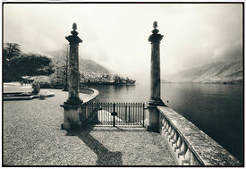 Villa D'Este, Bellagio, Lake Como, Northern Italy.