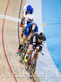 Women's team pursuit qualification. 2015 Canadian Track Championships, October 7, 2015