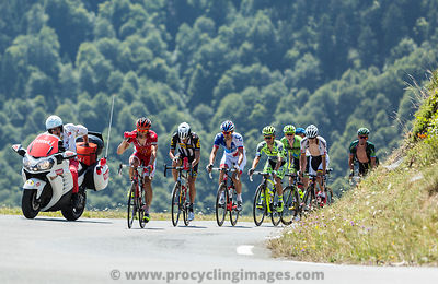 The Breakaway on Col D'Aspin - Tour de France 2015