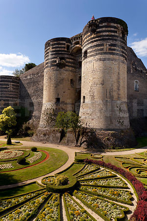 Photo du chateau d angers