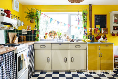Home in Low Fell with retro interior | Client: Your Home Magazine