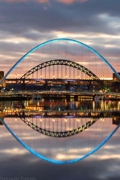 Calm River Tyne