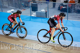 Cat 2 Women Points Race, 2017/2018 Track Ontario Cup #2, Mattamy National Cycling Centre, Milton On, January 14, 2018
