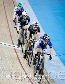 U17 Men Team Pursuit. 2016/2017 Track O-Cup #3/Eastern Track Challenge, Mattamy National Cycling Centre, Milton, On, February 11, 2017