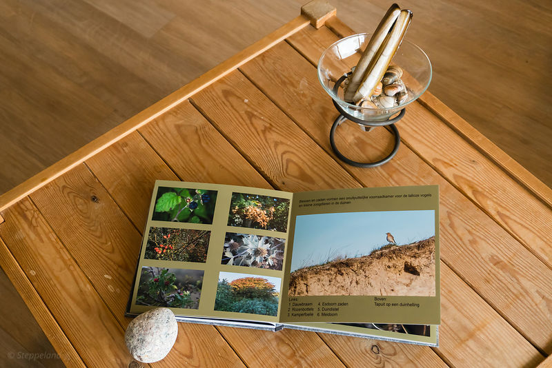Photo book 'Zee, Strand en Duinen' - presentation