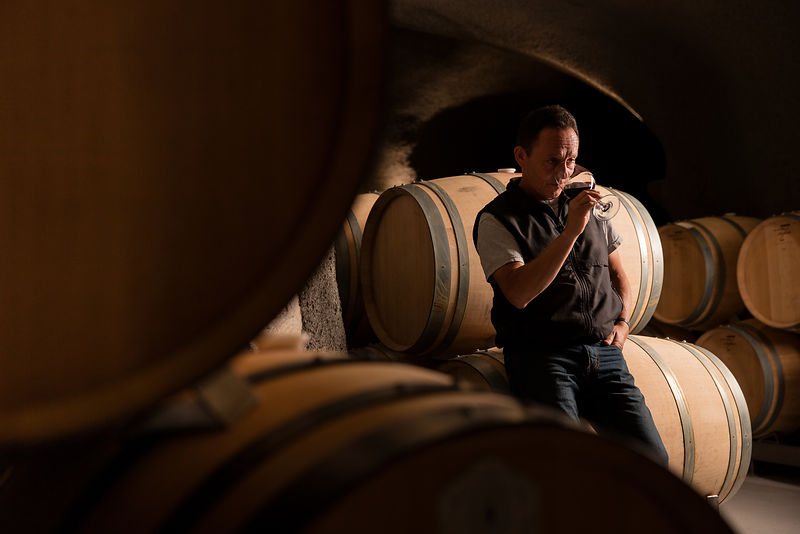 Elias Fernandez, winemaker at Shafer Vineyards, photoshoot for Worth Magazine by Jason Tinacci