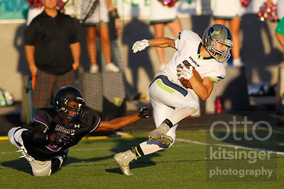 Football: Rocky Mountain at Mountain View 9/5/14