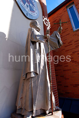 Religious Stock Photos: Statue at Cistercian Monastery in Irving, TX