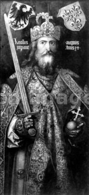 Charlemagne King of the Franks by Durer