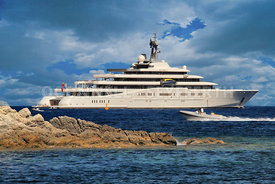 Superyacht Eclipse