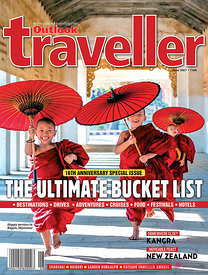 The Outlook traveller magazine cover