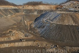 Mountain Top Removal Coal Mining in Southern West Virginia