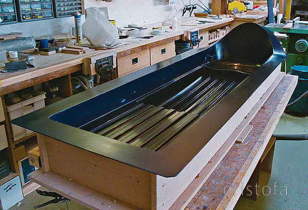 ROCAT proto-2 seatdeck mould incorporating lessons learned