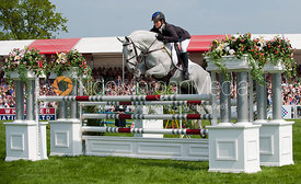 Caroline Powell and Lenamore - Show Jumping