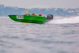 A192, Fortitudo Poole Bay 100 Offshore Powerboat Race, June 2018, 20180610137