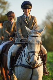 Isobel Mceuen - The Cottesmore Hunt at America Crossroads 17/10