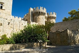 palace of the grand masters rhodes old town rhodes dodecanese islands Greece