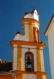 Bell tower Spain