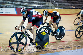 Men's Sprint 5-8 Final. 2015 Canadian Track Championships, October 8, 2015