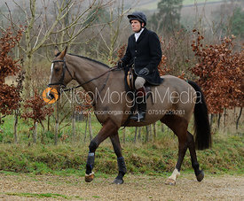 Roger Lee at the meet at Town Park Farm