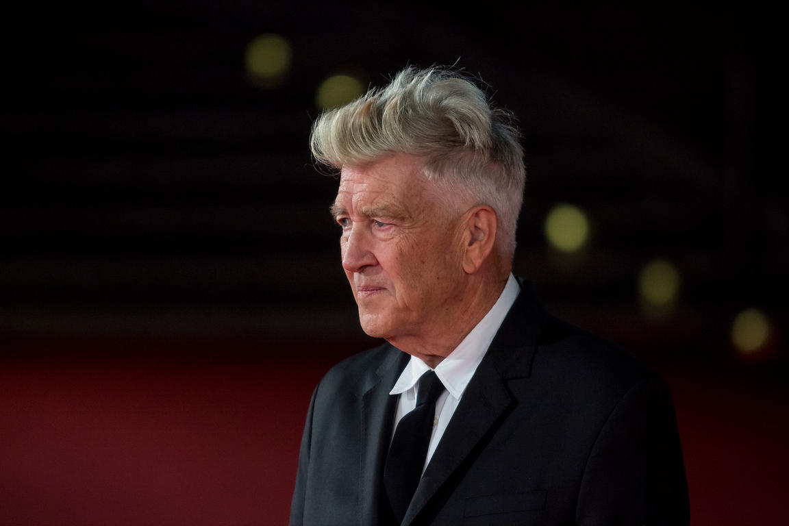 David Lynch on the red carpet before speaking before about his career at the Rome International Film Festival, , Rome Italy, 27 Oct, 2017, Rome, Italy, 4, Nov, 2017