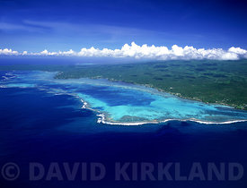 Aeriel photo of Savaii