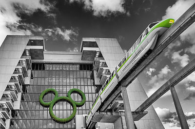 Green Monorail, Contemporary Resort and Mickey