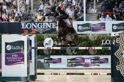 Karim ELZOGHBY ,(EGY), AMELIA during Longines Cup of the City of Barcelona competition at CSIO5* Barcelona at Real Club de Polo, Barcelona - Spain