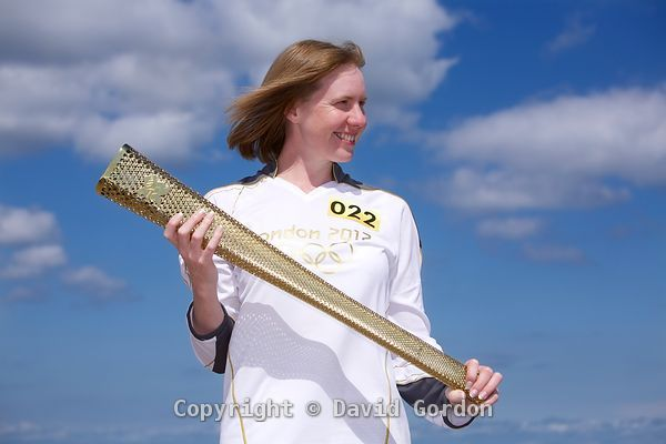 Kirsteen Torrance - Olympic Torch photos