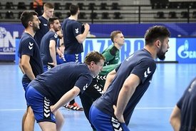 Team PPD Zagreb training during the Final Tournament - Final Four - SEHA - Gazprom league, Skopje, 12.04.2018, Mandatory Credit ©SEHA/ Nebojsa Tejic