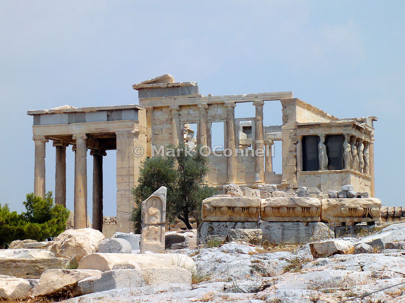 Temple of Erechtheion in Athens 2