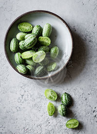 Cucamelons in a bowl