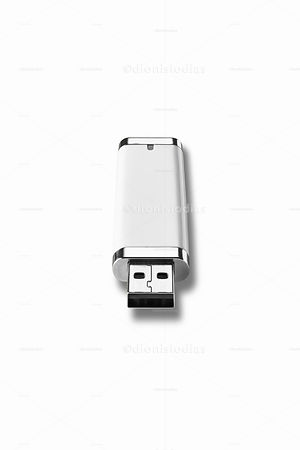 Pendrive usb white