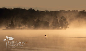 Misty Sunrise on Nettie Bay Lake