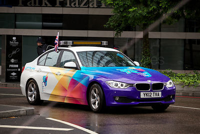 Paralympic Torch Escort Car