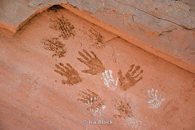 Ancient Rock Art Handprint